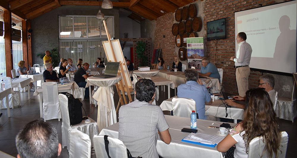 Туристичка промоција на културното наследство на прекуграничниот регион на Куманово и Ќустендил