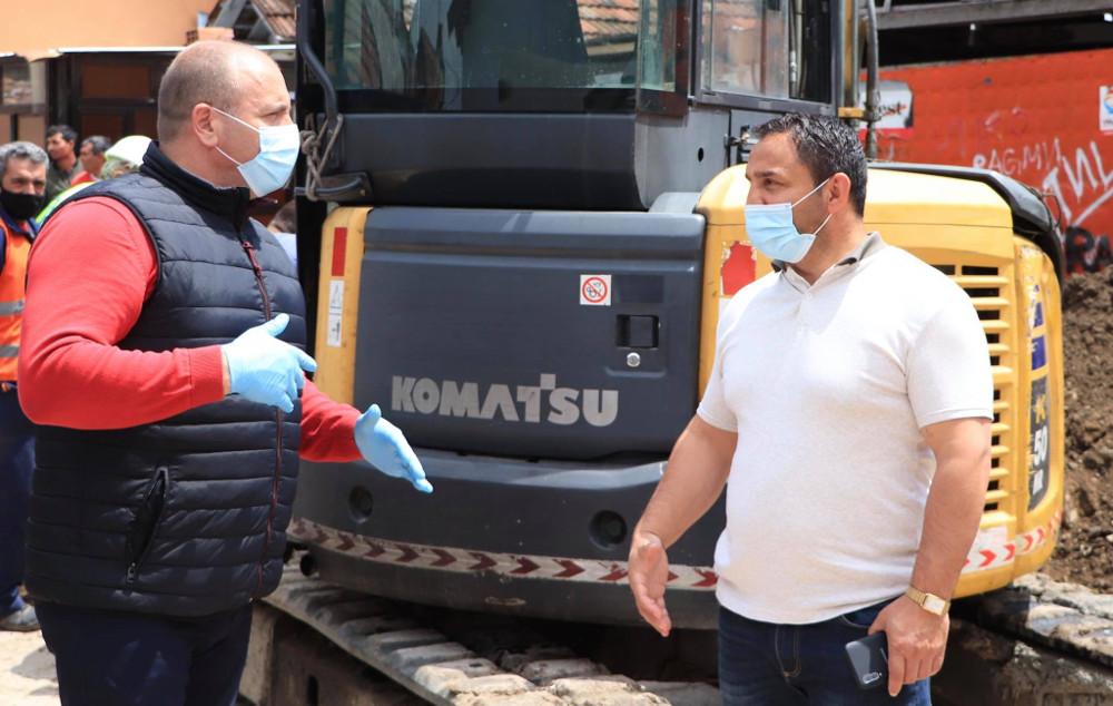 Започна реконструкција на канализационата мрежа во Средорек