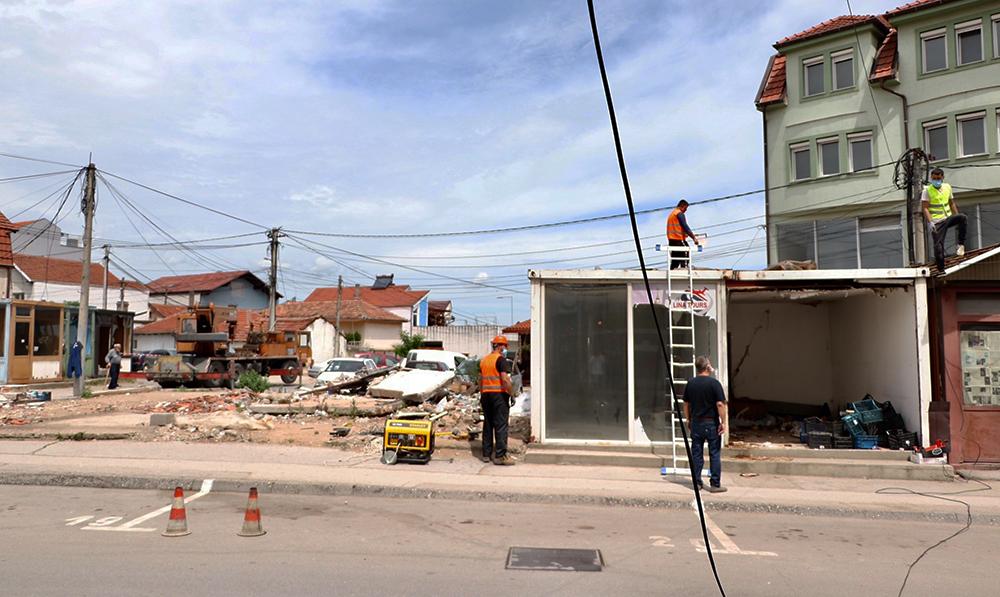"""Општина Куманово започна постапка за изградба на улица на местото на бараките на """"11 Октомври"""""""
