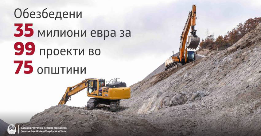 Куманово ќе добие 47,7 милиони денари за изградба на канализациja во Табановце, Четирце и Сопот од парите од ТАВ