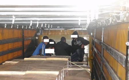 На Табановце откриени мигранти сокриени во контејнер од товарен воз