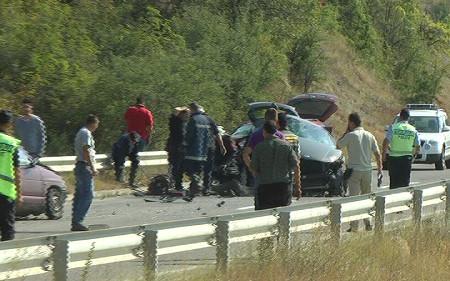 Четворица повредени во сообраќајка кај Ругинце