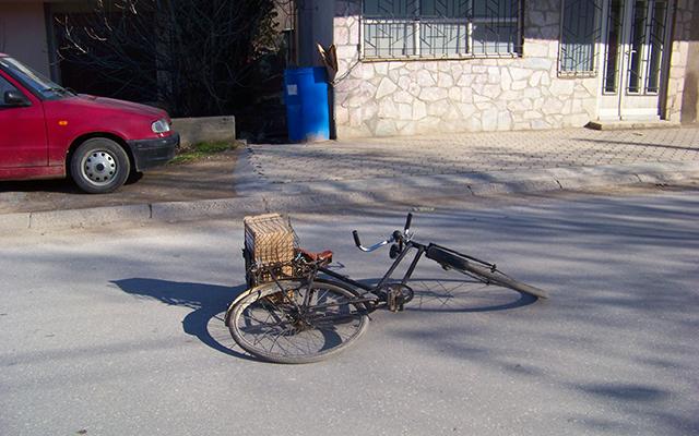 Повреден велосипедист кај Автобуската станица во Куманово