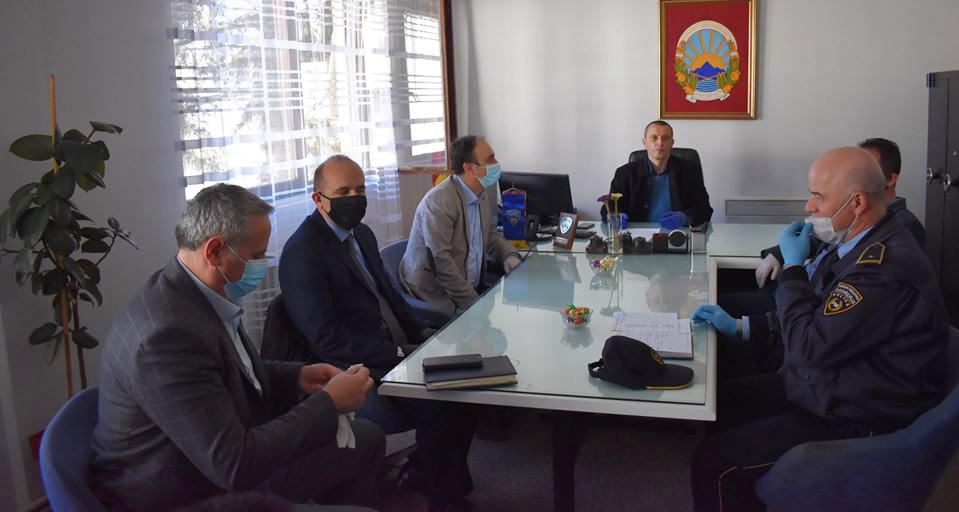 Министерот Чулев во посета на СВР Куманово