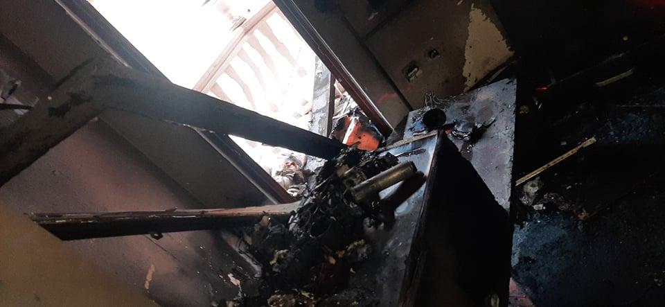 """Пожар во куќа на улица """"Христијан Тодоровски - Карпош"""""""