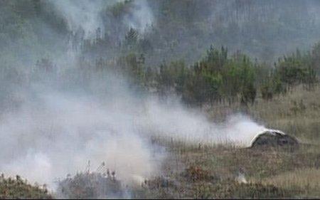 Три пожари на запалена сува трева во кумановско