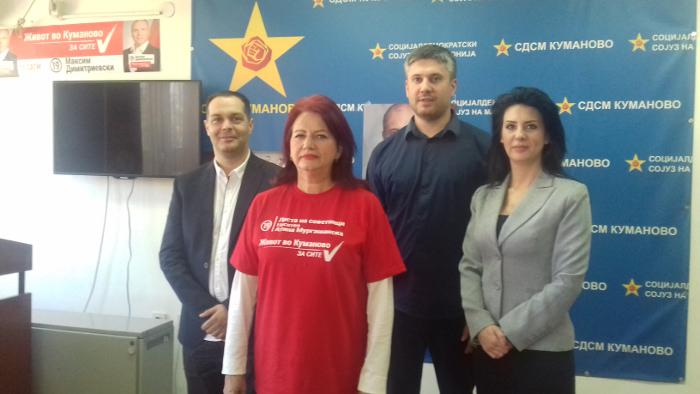 Мургашанска: Имаме концепт, план и визија за живот за сите во Куманово