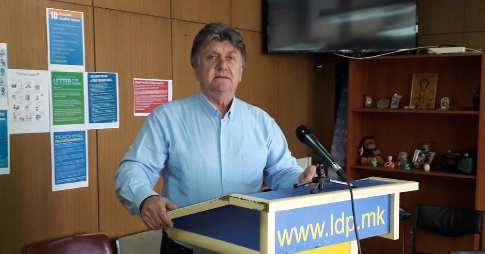 ЛДП: Масовно да излеземе на избори и да гласаме за Стево Пендаровски