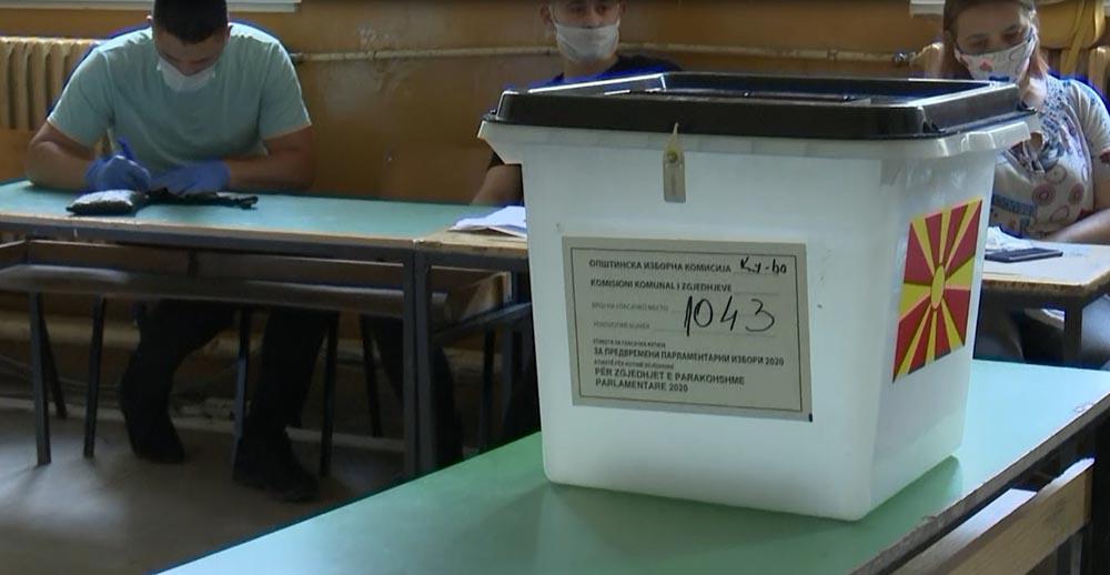 СДСМ 46, ВМРО-ДПМНЕ 44 и ДУИ 15 мандати, според неофицијалните резултати на ДИК