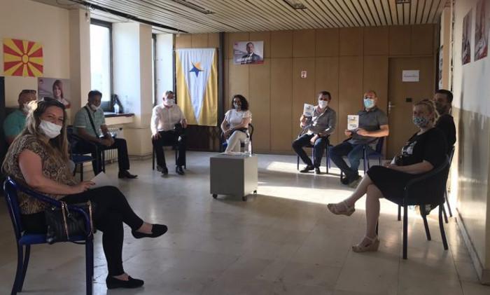 Шефот на Централниот изборен штаб на НСДП во посета на Куманово