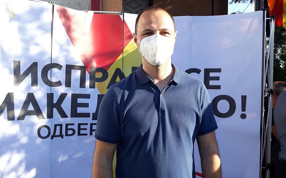 Време е за обнова на Куманово, порача Мисајловски од населбата Иго Тричковиќ