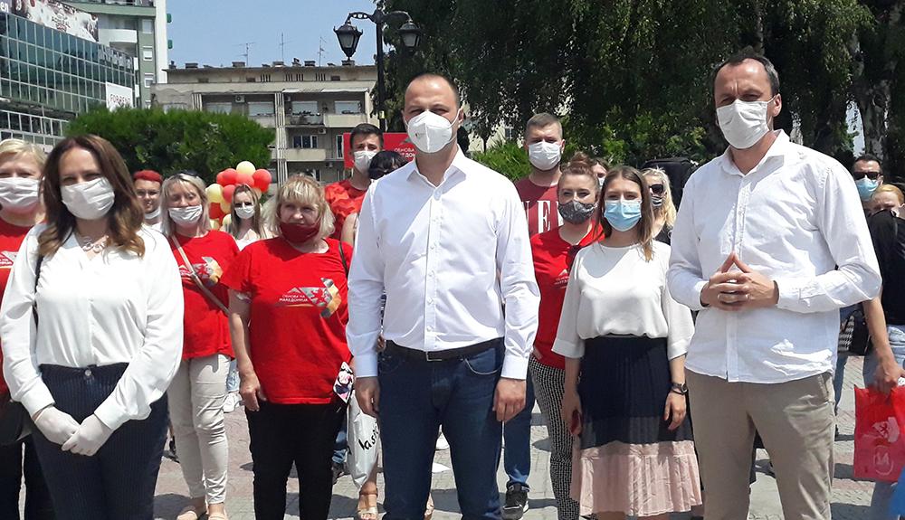 Мисајловски од Куманово вети обнова и ги повика граѓаните да ја поддржат програмата на ВМРО-ДПМНЕ