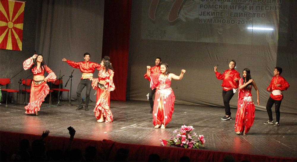 Се одржа Фестивалот на народни ромски игри и песни во Куманово