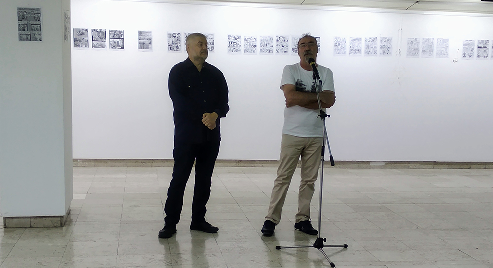 Oтворeна Изложбата на македонски стрип автори во Куманово