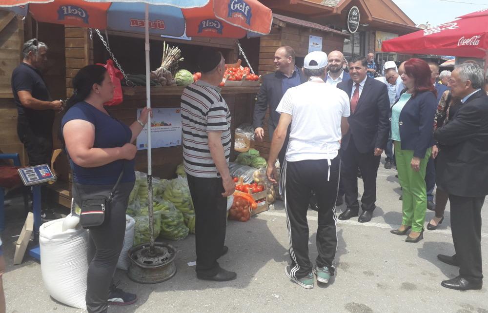 Реконструиран Зелениот пазар во Куманово