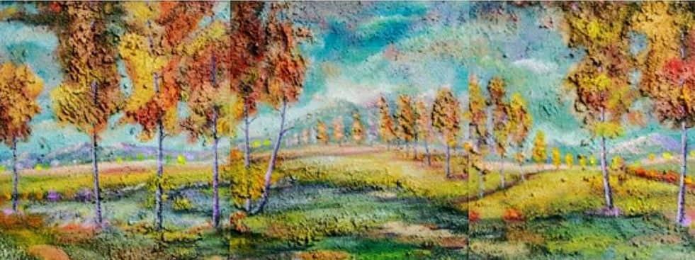 """Ликовна изложба """"Магија на цветовите"""" на Тасим Кадрија во Куманово"""