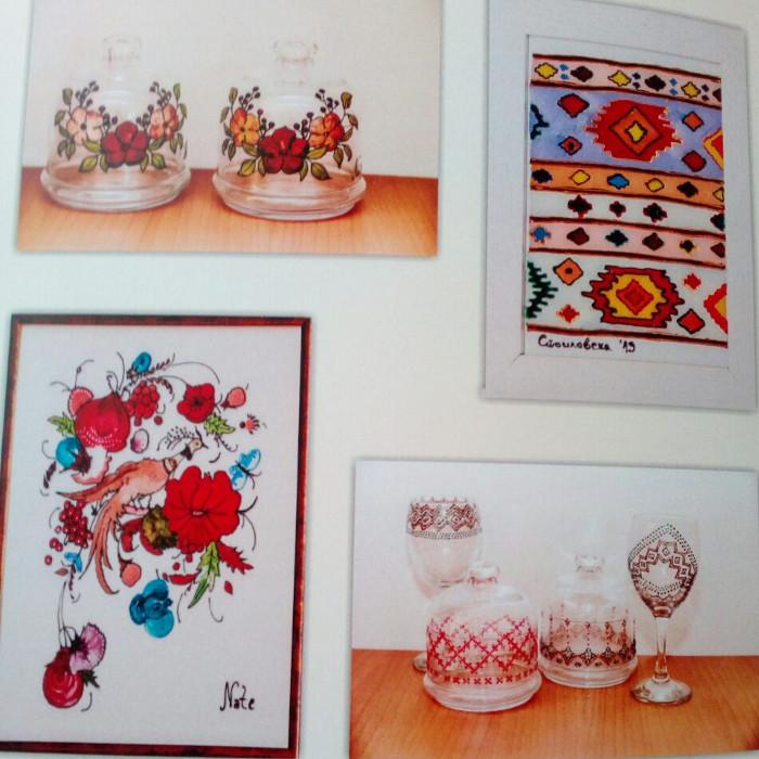 """Продажен базар на уникатни предмети во витраж техника од проектот """"Традиција низ слики"""""""