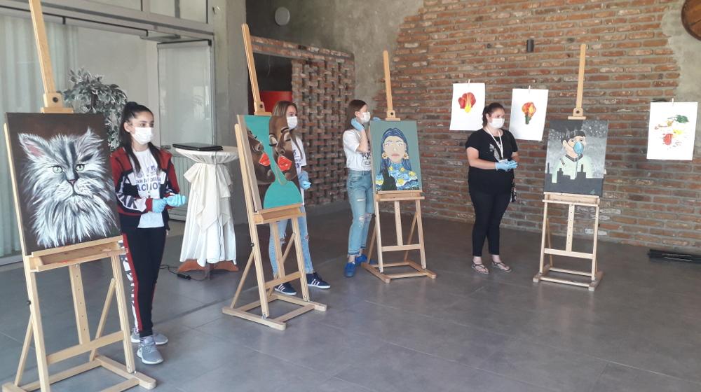 """Одбележани 10 години од постоењето на детскиот ликовен камп """"АСНОМ"""" во Куманово"""