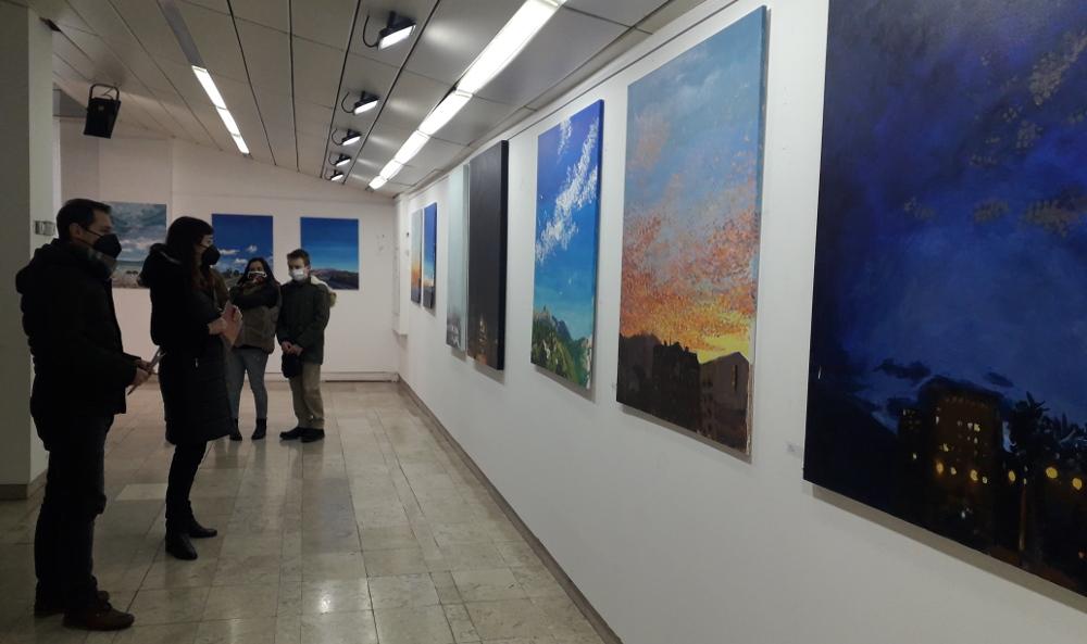 """Отворена изложбата """"Небо"""" во Центарот за култура"""