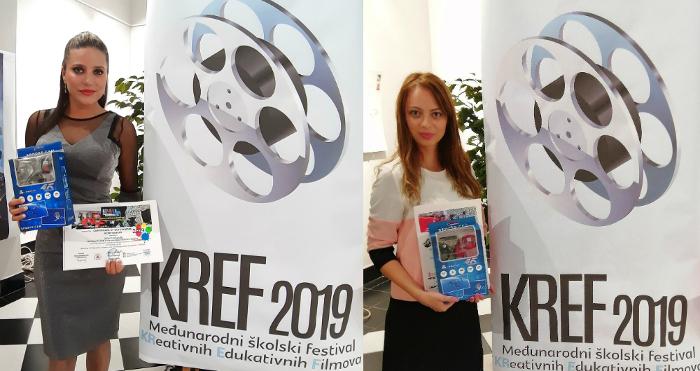 Две први места за две основни училишта од Куманово на фестивалот КРЕФ