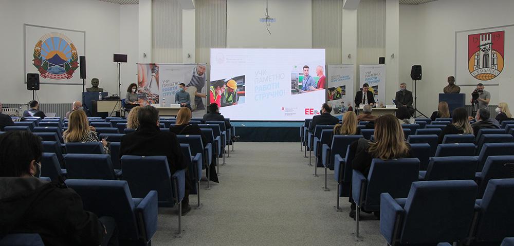 Ќе го прилагодиме стручното образование за потребите на пазарот на трудот, кажа министерот Шабани во Куманово