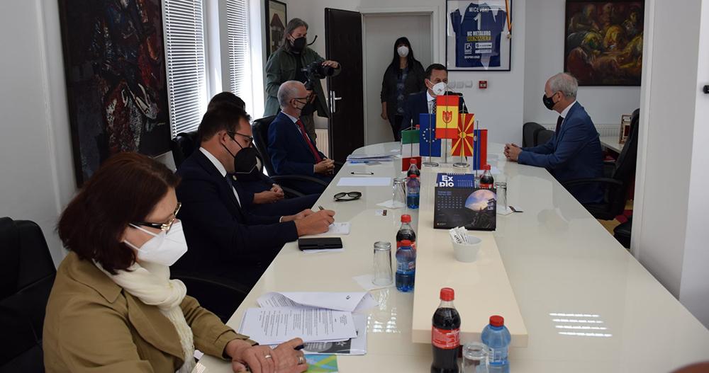 Амбасадорите на Италија и Словенија во посета на Крива Паланка