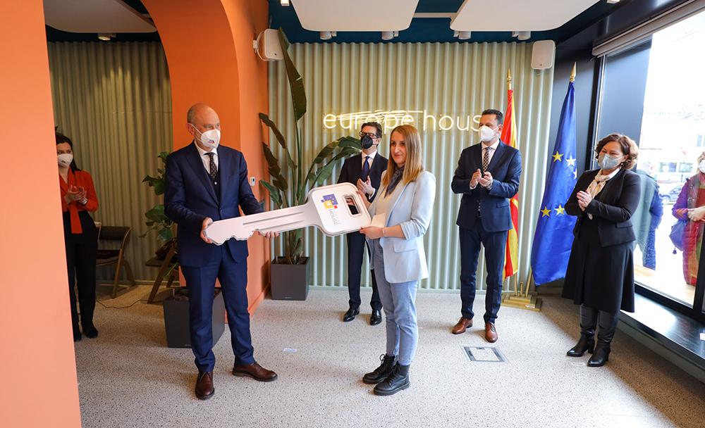 Oтворена Европска куќа во Крива Паланка