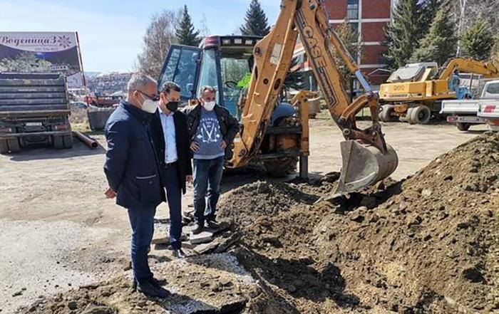Се подобрува комуналната инфраструктура во Крива Паланка