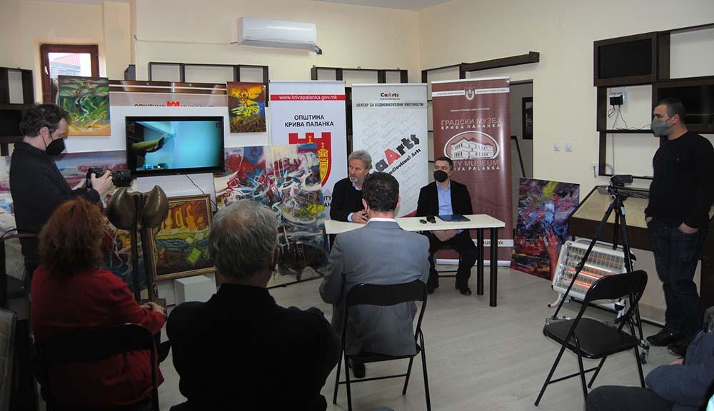 Центарот за аудиовизуелни уметности подари уметнички дела на Градскиот музеј во К.Паланка