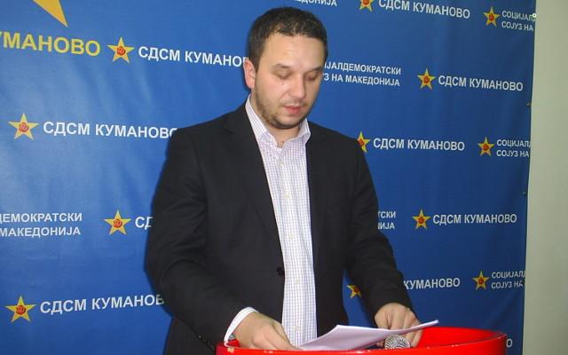 Костовски реизбран за претседател на СДСМ Куманово