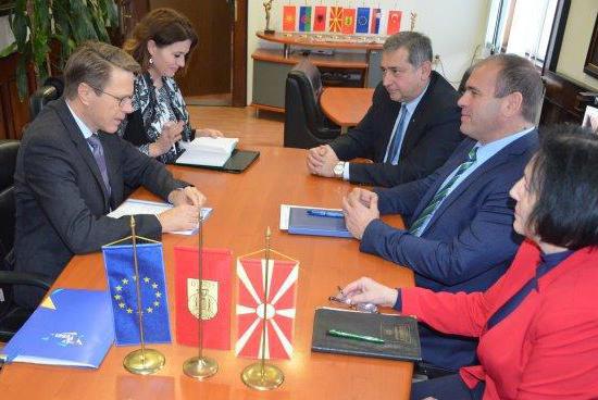Евроамбасадорот Жбогар ќе стане почесен граѓанин на Куманово