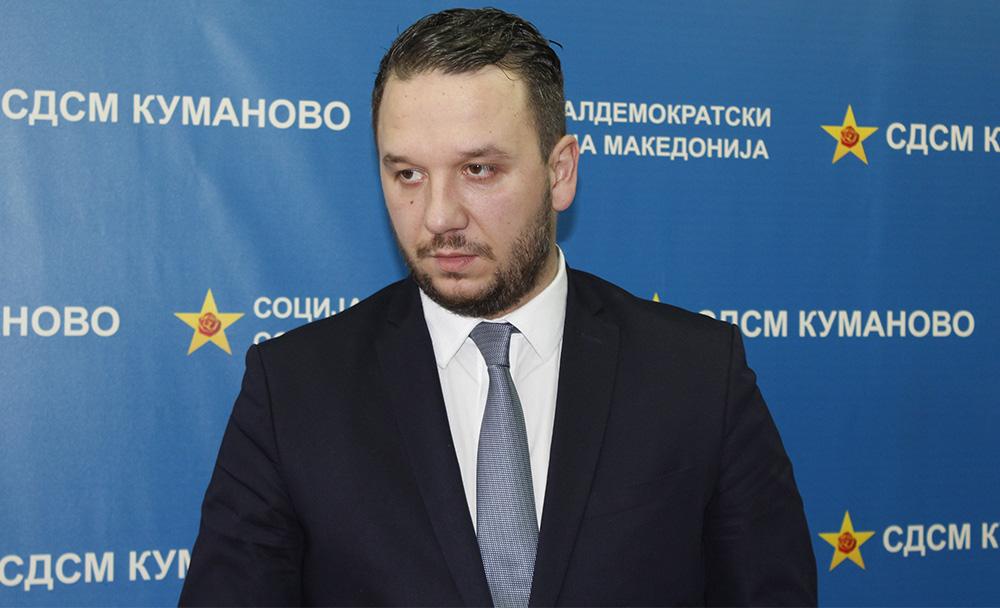 """СДСМ ќе бара утврдување на сопственоста на зградата на """"Комитет"""", најави Костовски"""