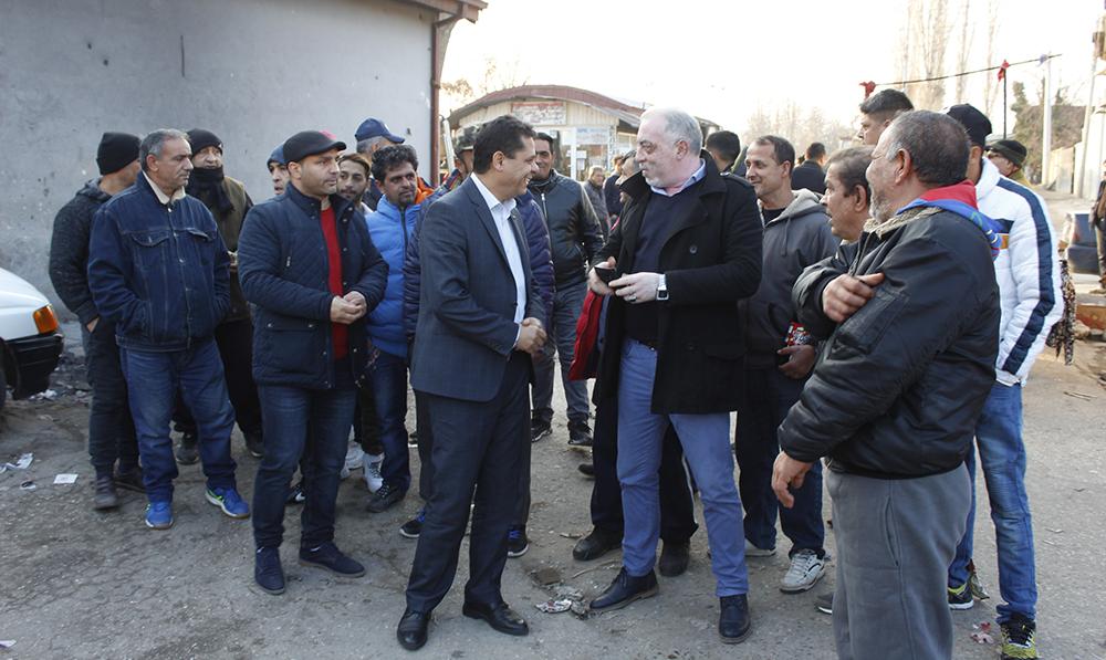 Ќе се гради канализациона мрежа во Средорек, најави министерот Ахмедовски