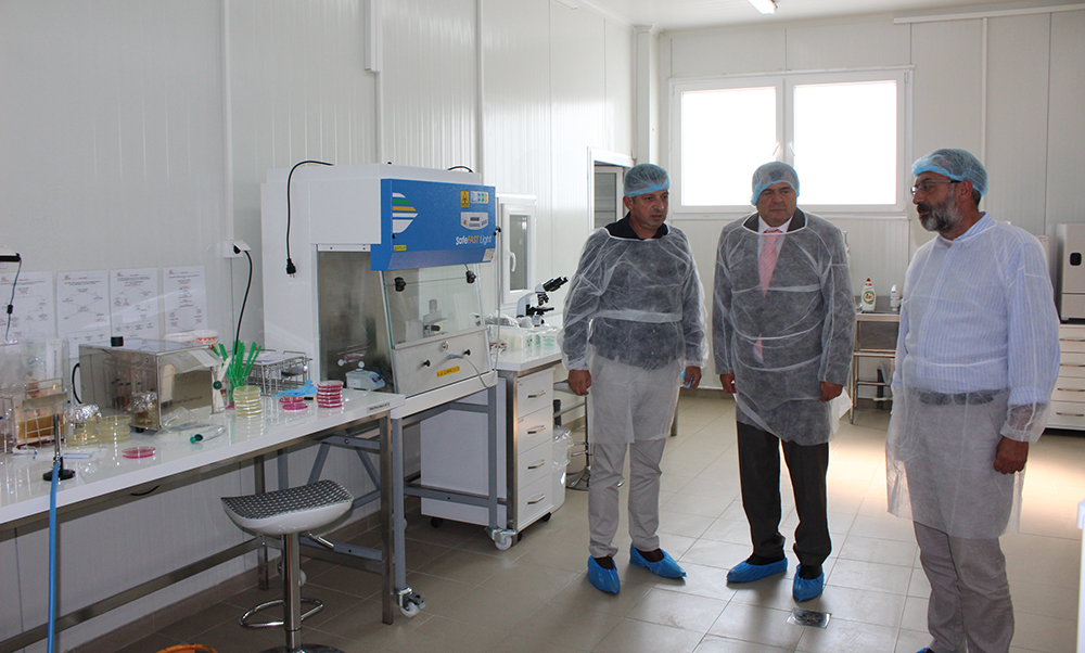 Министерот Шапуриќ ја посети новата лабораторија на компанијата БДА