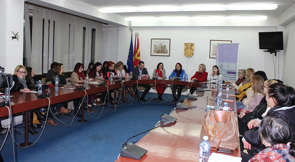Борбата против насилство ги обедини жените од СДСМ и ВМРО-ДПМНЕ