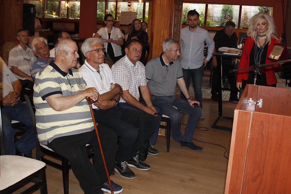 Средба на ветераните на Социјалистичката партија во Куманово