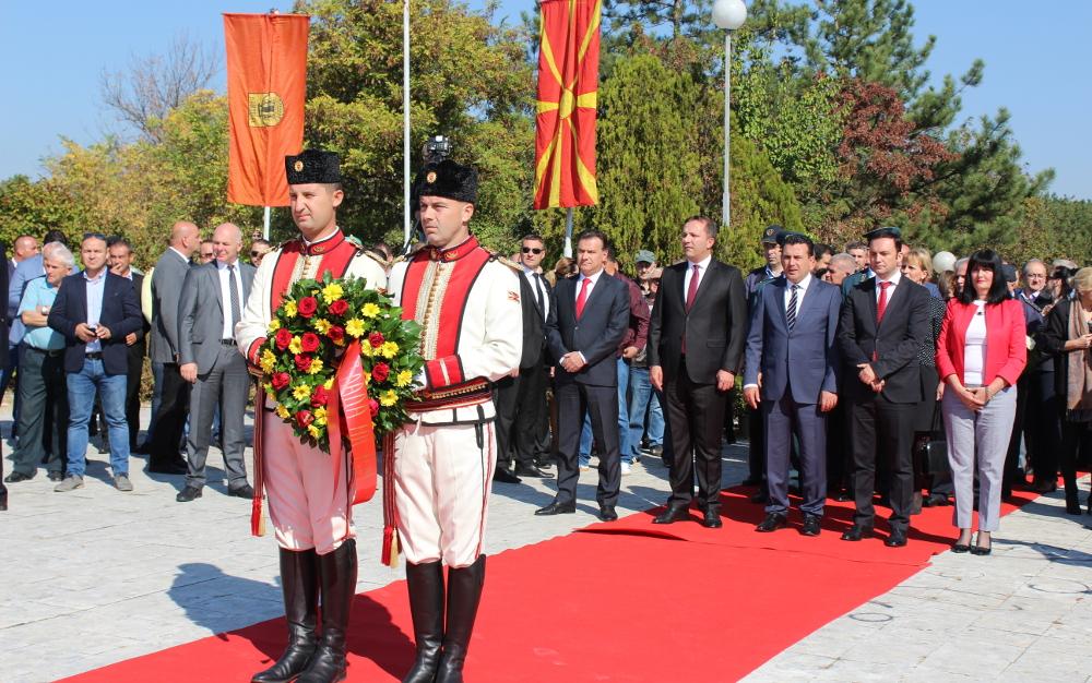 Премиерот Заев во Куманово на одбележувањето на 11 Октомври
