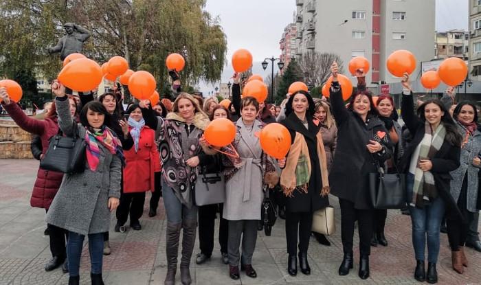 Форумот на жени на СДСМ Куманово против насилството врз жените