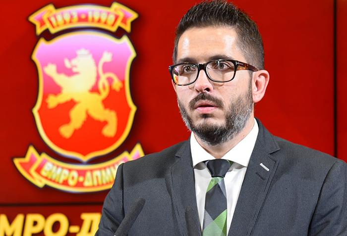 Божиновски го повика Димитриевски да дојде на протестот на ВМРО-ДПМНЕ во одбрана на историјата на државата