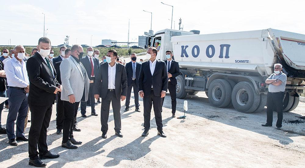 Заев ги повика бизнисмените да инвестираат во индустриската зона Речица