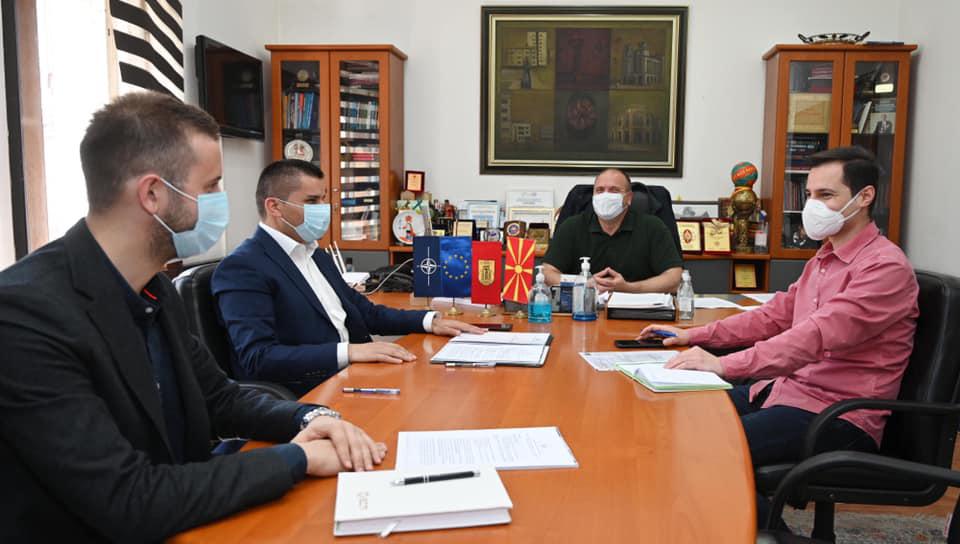 Вицепремиерот Николовски во посета на Општина Куманово