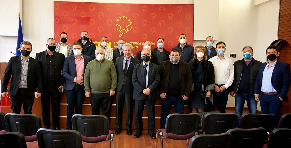 Жарко Милошевски избран за извршен секретар на Социјалистичка партија на Македонија