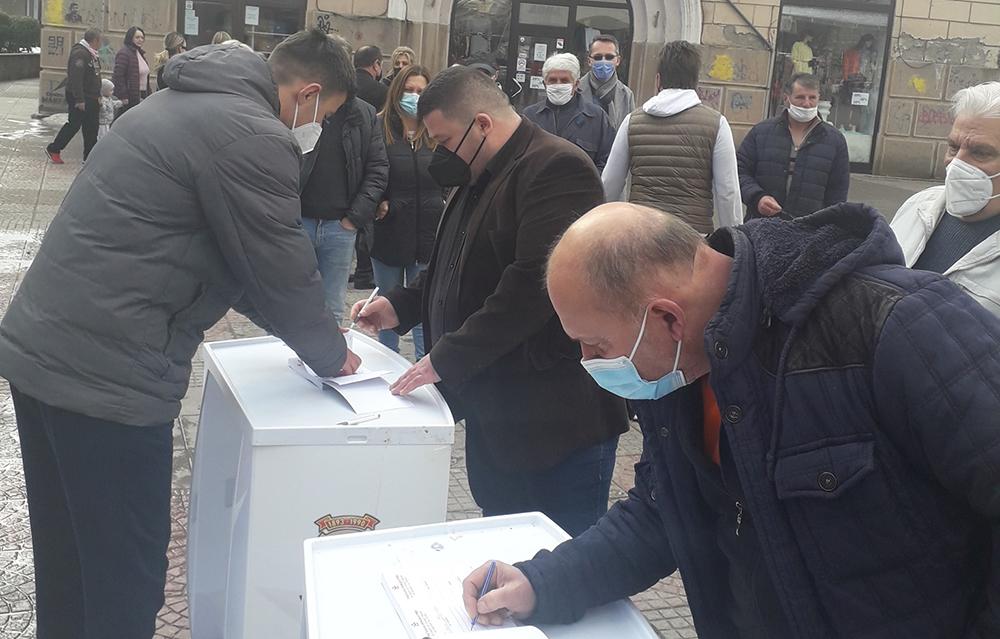 СПМ дава поддршка за повлекување на Законот за попис
