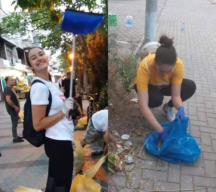 Чистењето ѓубре е борба со ветерници, но нема да се откажам, вели Јована Спасиќ, еко-активистка