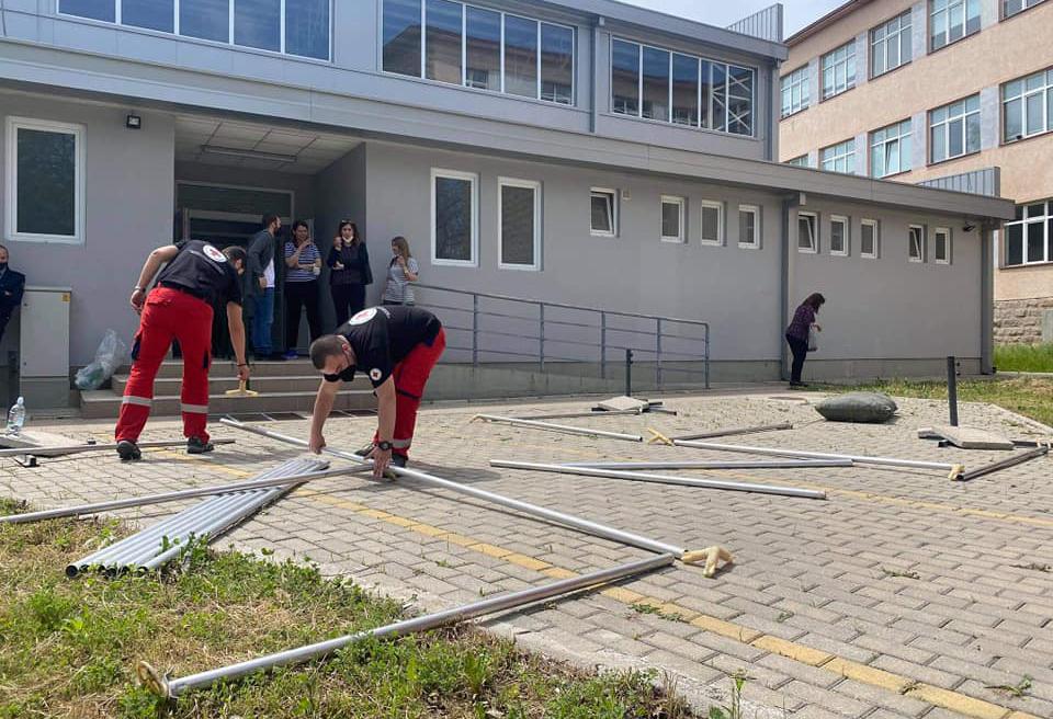 """Во Куманово масовната имунизација ќе се одвива во спортската сала """"Перо Наков"""" во Бедиње"""