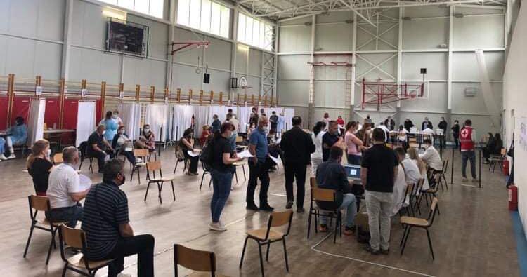 Во Куманово вчера се вакцинирале рекордни 1400 граѓани