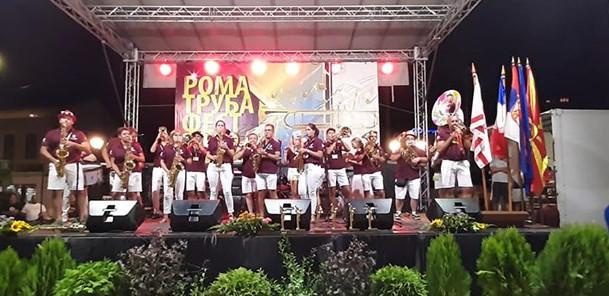 """""""Рома труба фест"""" празник на музиката во Куманово"""