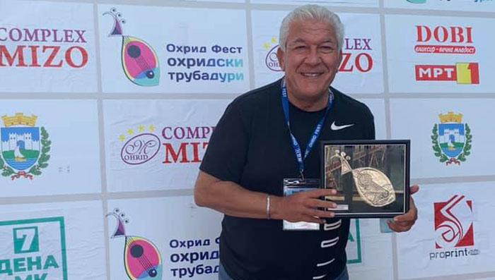 "Нино освои втора награда на ""Охрид-фест"""