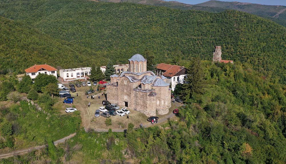 Манастирот Матејче доби 1 милион денари за заштита на црквата и камбанаријата
